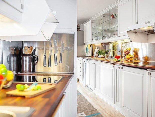 Фотография: Прочее в стиле , Кухня и столовая, Интерьер комнат, Цвет в интерьере, Белый, Проект недели – фото на InMyRoom.ru