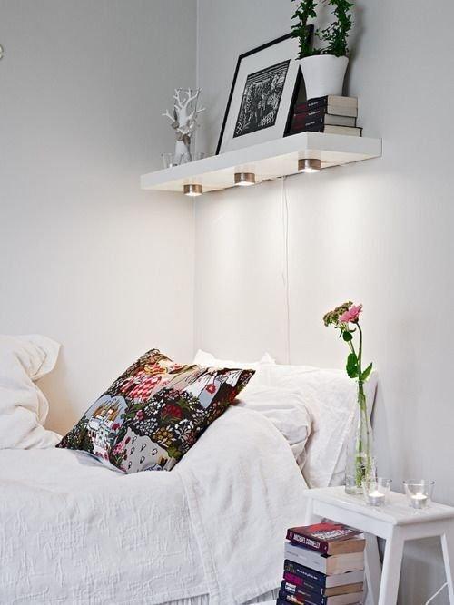 Фотография: Спальня в стиле Скандинавский, Современный, Декор интерьера, Мебель и свет – фото на INMYROOM