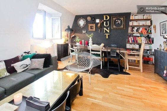 Фотография: Спальня в стиле Минимализм, Декор интерьера, Малогабаритная квартира, Квартира, Дома и квартиры, Airbnb – фото на INMYROOM