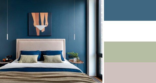Фотография: Спальня в стиле Современный, Декор интерьера, цветовые схемы – фото на INMYROOM