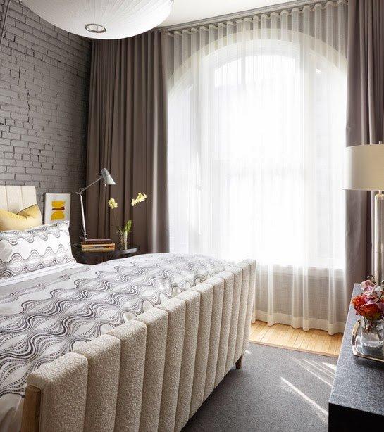 Фотография: Спальня в стиле Лофт, Декор интерьера, Текстиль, Шторы – фото на INMYROOM