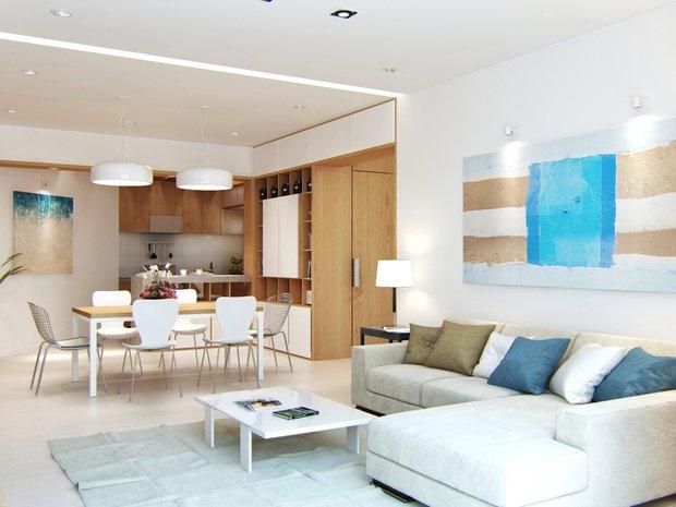 Фотография: Гостиная в стиле Современный, Квартира, Стиль жизни, Советы – фото на INMYROOM