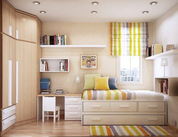Фотография: Детская в стиле Современный, Малогабаритная квартира, Интерьер комнат, Советы, Зеркала – фото на INMYROOM