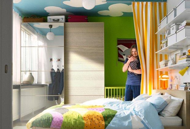 Фотография: Прочее в стиле , Спальня, Интерьер комнат, IKEA – фото на InMyRoom.ru