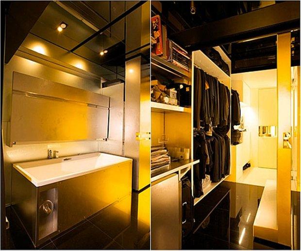 Фотография: Прочее в стиле , Малогабаритная квартира, Квартира, Россия, Дома и квартиры, Нью-Йорк, Париж, Мебель-трансформер – фото на InMyRoom.ru