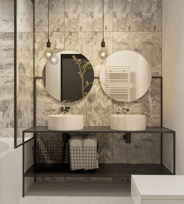 Фотография: Ванная в стиле Современный, Советы, Перепланировка, Руслан Кирничанский – фото на INMYROOM