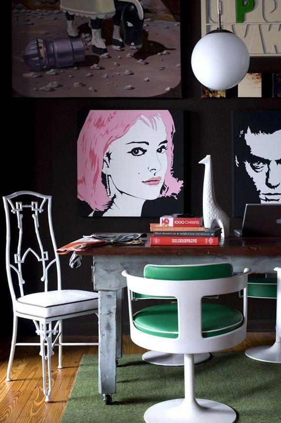 Фотография: Декор в стиле Эклектика, Декор интерьера, Декор дома, Картины, Поп-арт – фото на INMYROOM