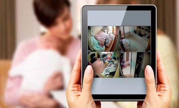 Фотография:  в стиле , Советы, Умный дом, безопасный для здоровья дом, Ростелеком, как сделать дом безопасным, домашнее видеонаблюдение – фото на INMYROOM