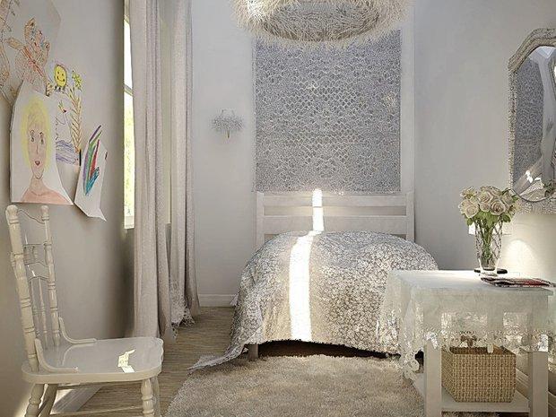 Фотография: Спальня в стиле Прованс и Кантри, Современный, Интерьер комнат, Elitis, IKEA – фото на INMYROOM