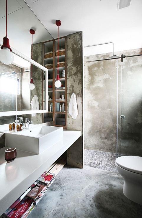 Фотография: Ванная в стиле Лофт, Декор интерьера, Декор – фото на INMYROOM