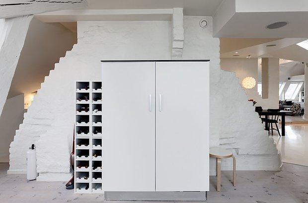 Фотография:  в стиле Скандинавский, Квартира, Мебель и свет, Дома и квартиры – фото на INMYROOM
