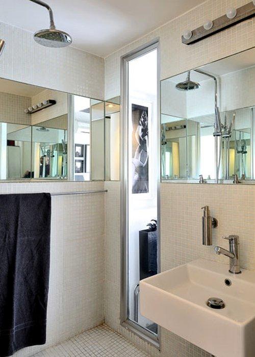 Фотография: Ванная в стиле Современный, Декор интерьера, Квартира, Цвет в интерьере, Дома и квартиры, Стены, Мадрид – фото на INMYROOM