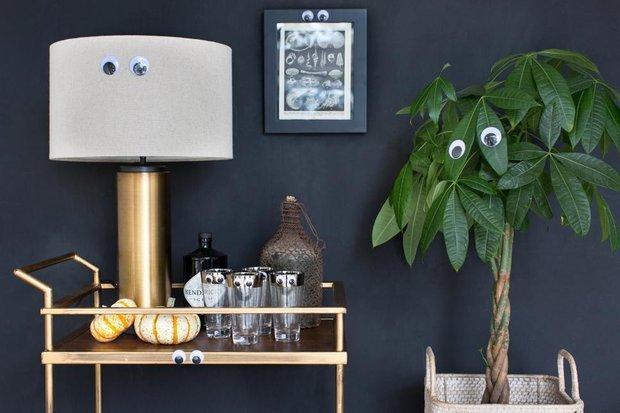 Фотография: Декор в стиле Скандинавский, Советы, как оформить дом к Хэллоуину, декор интерьера на Хэллоуин – фото на INMYROOM