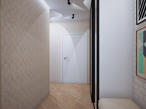 Фотография: Прихожая в стиле Современный, Классический, Квартира, Планировки, Мебель и свет, Проект недели – фото на InMyRoom.ru