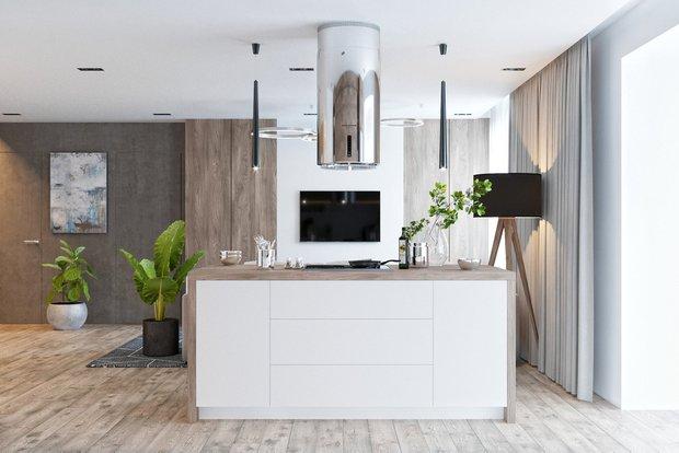 Фотография: Кухня и столовая в стиле Эко, Квартира, Проект недели, Монолитный дом, 3 комнаты, 60-90 метров, Днепропетровск, PARA Studio – фото на INMYROOM