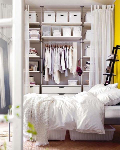 Фотография: Спальня в стиле Скандинавский, Современный, Хранение, Стиль жизни, Советы – фото на INMYROOM