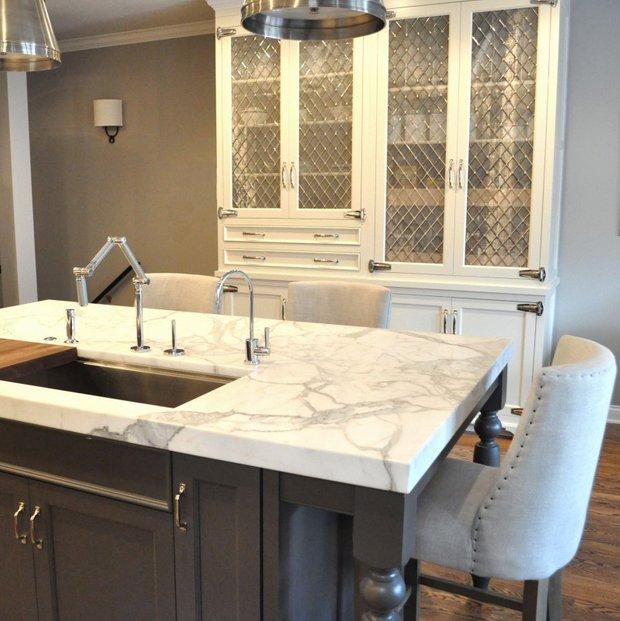 Фотография: Кухня и столовая в стиле Прованс и Кантри, Лофт, Интерьер комнат, Советы – фото на INMYROOM