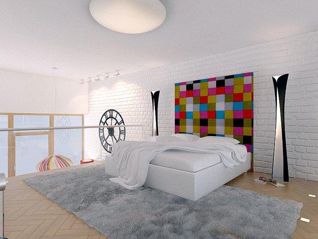 Фотография: Спальня в стиле Лофт, Современный, Эклектика, Декор интерьера, Квартира, Artemide, Axo Light, Moooi, Дома и квартиры, Проект недели – фото на INMYROOM