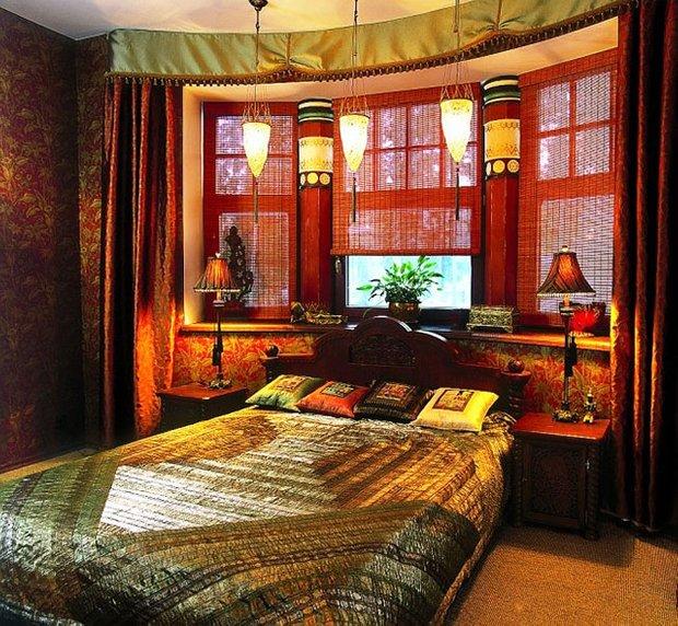 Фотография: Спальня в стиле Восточный, Декор интерьера, Декор дома, Японский – фото на INMYROOM