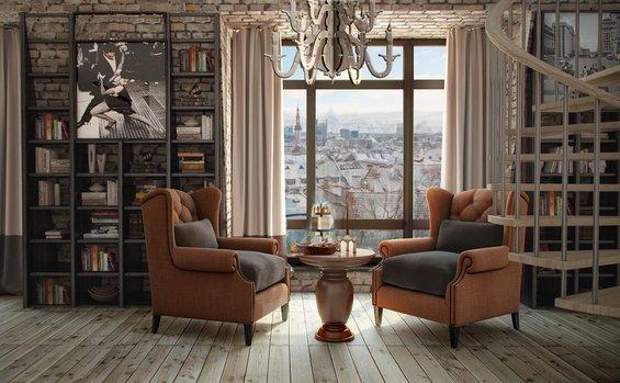 Фотография: Гостиная в стиле Прованс и Кантри, Квартира, Дома и квартиры – фото на INMYROOM
