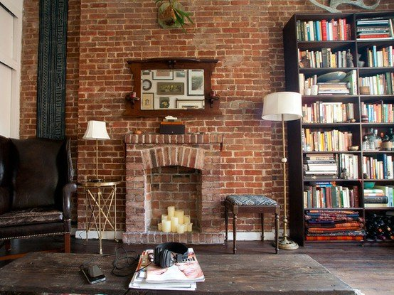 Фотография: Гостиная в стиле Лофт, Декор интерьера, Декор дома, Стены – фото на INMYROOM