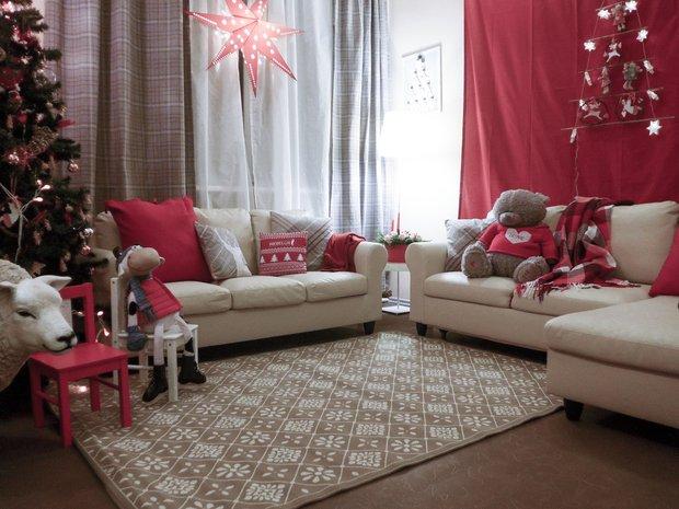Фотография: Гостиная в стиле Скандинавский, Современный, DIY, Переделка – фото на INMYROOM