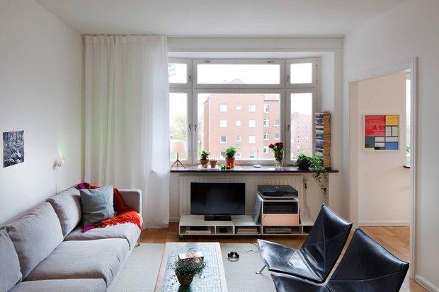 Фотография: Гостиная в стиле Скандинавский, Декор интерьера, Квартира, Дома и квартиры – фото на INMYROOM