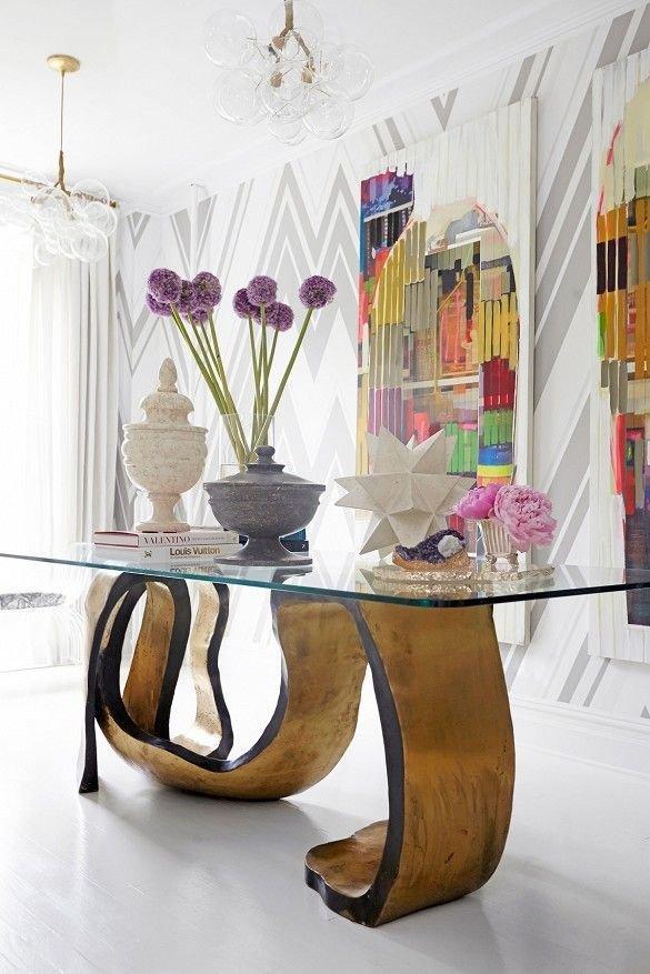 Фотография: Гостиная в стиле Эклектика, Декор интерьера, Мебель и свет, Цвет в интерьере, Советы – фото на INMYROOM