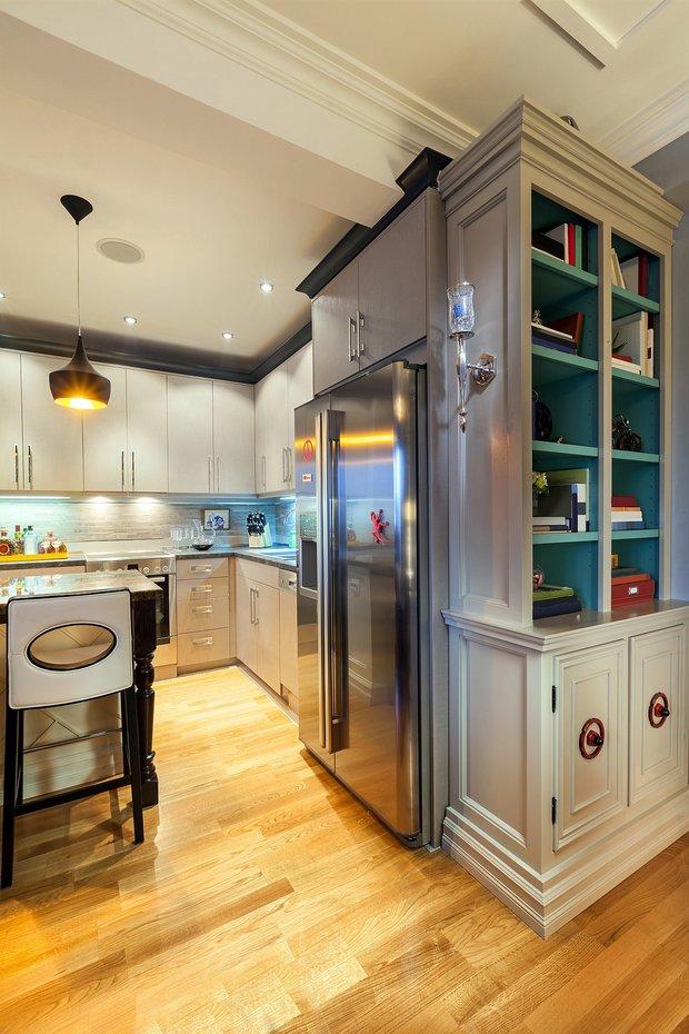 Фотография: Кухня и столовая в стиле , Интерьер комнат, HOFF, Системы хранения – фото на INMYROOM