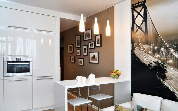 Фотография: Кухня и столовая в стиле Современный, Квартира, Дома и квартиры, Советы – фото на InMyRoom.ru