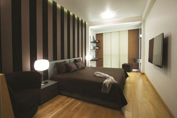 Фотография: Спальня в стиле Современный, Квартира, Дома и квартиры, Проект недели, Перепланировка – фото на INMYROOM