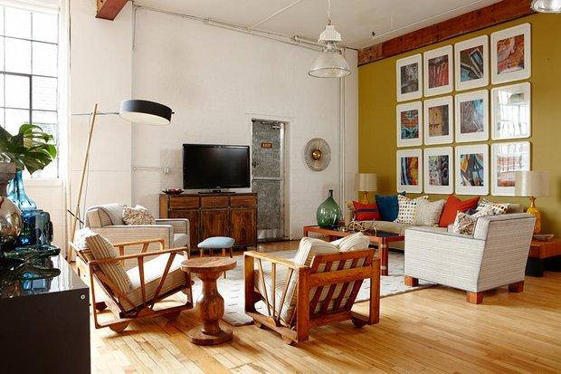 Фотография: Гостиная в стиле Современный, Декор интерьера, Декор дома, Цвет в интерьере – фото на INMYROOM