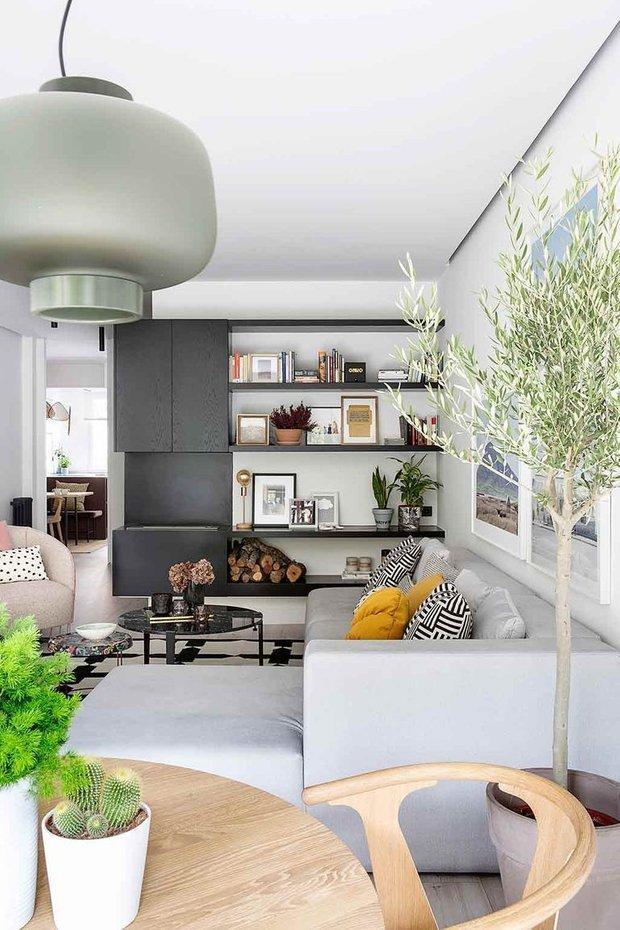 Фотография: Гостиная в стиле Скандинавский, Современный, Декор интерьера, Квартира – фото на INMYROOM