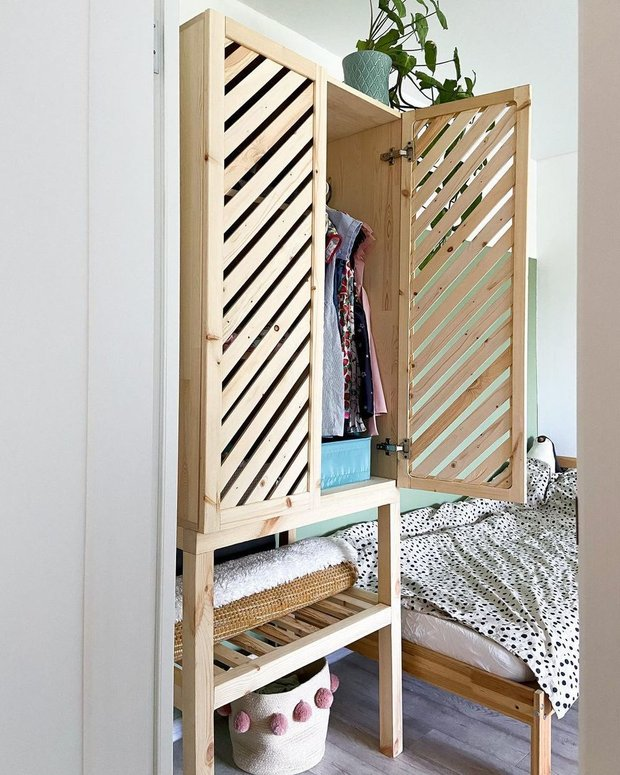 Фотография:  в стиле , DIY, шкаф своими руками, DIY шкаф, DIY идея – фото на INMYROOM