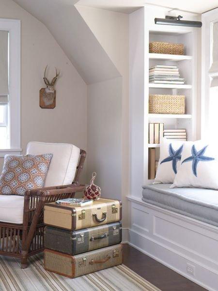 Фотография: Мебель и свет в стиле Скандинавский, Спальня, Интерьер комнат, Подушки, Ковер – фото на INMYROOM