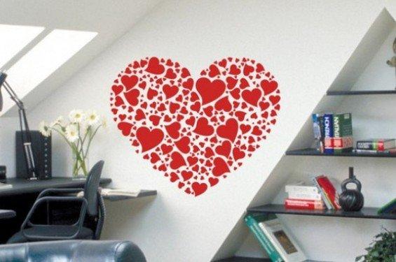 Фотография: Кабинет в стиле Современный, Декор интерьера, DIY, Праздник, День святого Валентина – фото на INMYROOM