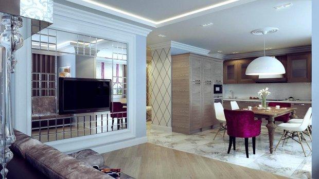 Фотография: Кухня и столовая в стиле Эклектика, Декор интерьера, Декор дома, Зеркала – фото на INMYROOM