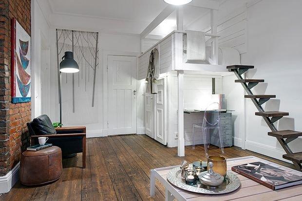 Фотография: Гостиная в стиле Современный, Лофт, Декор интерьера, Малогабаритная квартира, Квартира, Дом, Декор – фото на INMYROOM