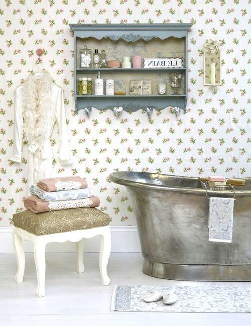 Фотография: Ванная в стиле Прованс и Кантри, Стиль жизни, Советы, Ванна – фото на INMYROOM