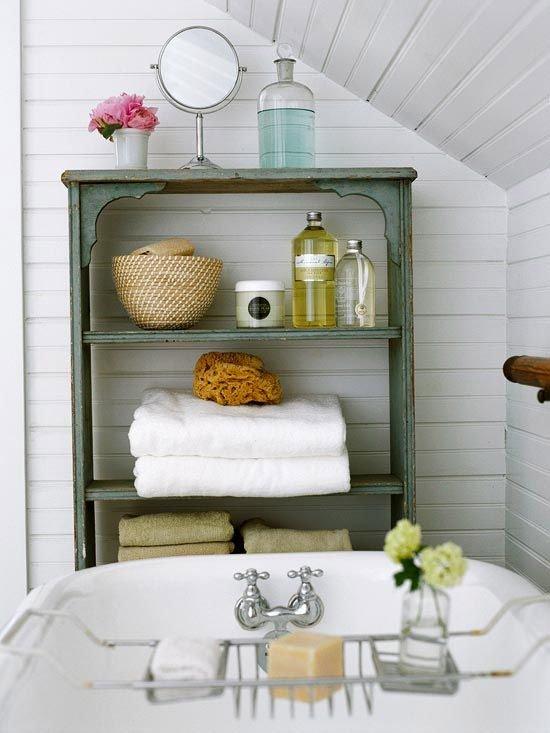 Фотография: Ванная в стиле Прованс и Кантри, Стиль жизни, Советы, Эко – фото на INMYROOM