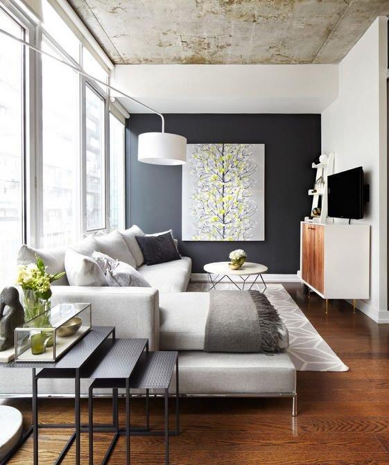 Фотография: Гостиная в стиле Лофт, Восточный, Интерьер комнат – фото на INMYROOM
