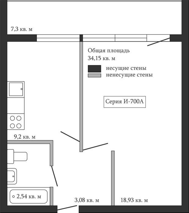 Фотография:  в стиле , Ванная, Перепланировка, Анастасия Киселева, П-44К, П-44, И-700А – фото на InMyRoom.ru
