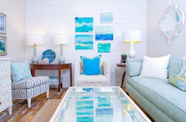 Фотография: Гостиная в стиле Прованс и Кантри, Декор интерьера, Дизайн интерьера, Цвет в интерьере – фото на INMYROOM