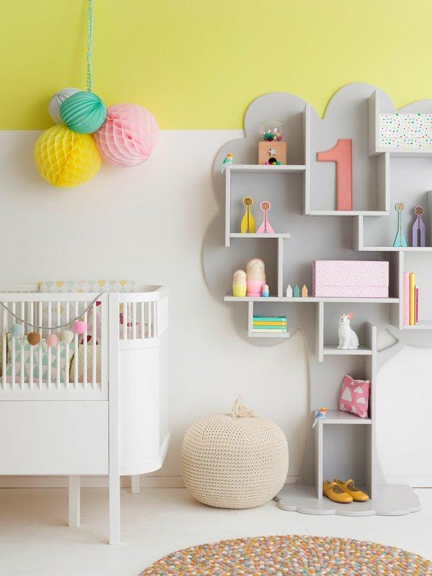 Фотография: Детская в стиле , Декор интерьера, Интерьер комнат, Обои – фото на INMYROOM