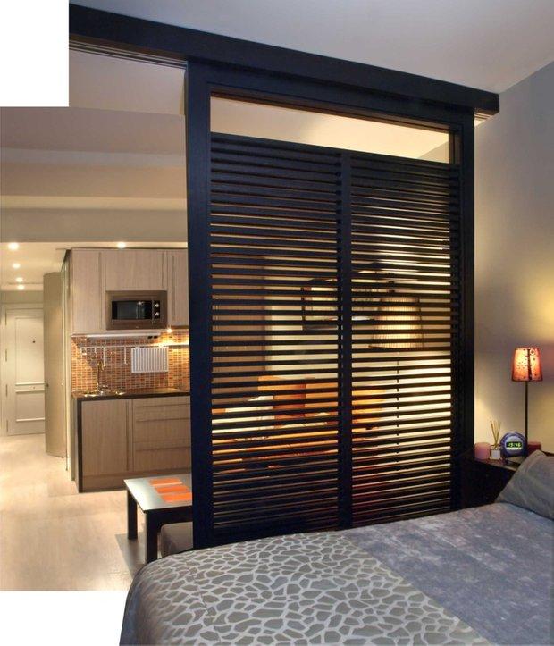 Фотография: Прочее в стиле , Гостиная, Спальня, Интерьер комнат – фото на INMYROOM