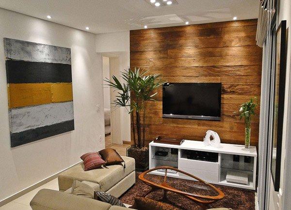 Фотография: Гостиная в стиле Современный, Стиль жизни, Советы, Стена, Зеркало – фото на INMYROOM