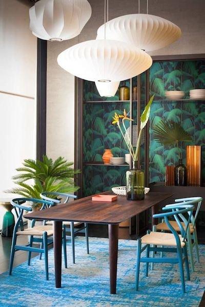 Фотография: Кухня и столовая в стиле Современный, Восточный, Декор интерьера, Декор дома, Плетеная мебель – фото на INMYROOM