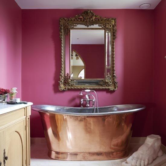 Фотография: Ванная в стиле Эклектика, Интерьер комнат, Ванна – фото на INMYROOM