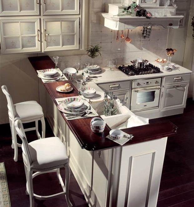 Фотография: Кухня и столовая в стиле Скандинавский, Гостиная, Декор интерьера, Квартира, Студия, Дом, барная стойка на кухне, кухня-гостиная с барной стойкой – фото на INMYROOM