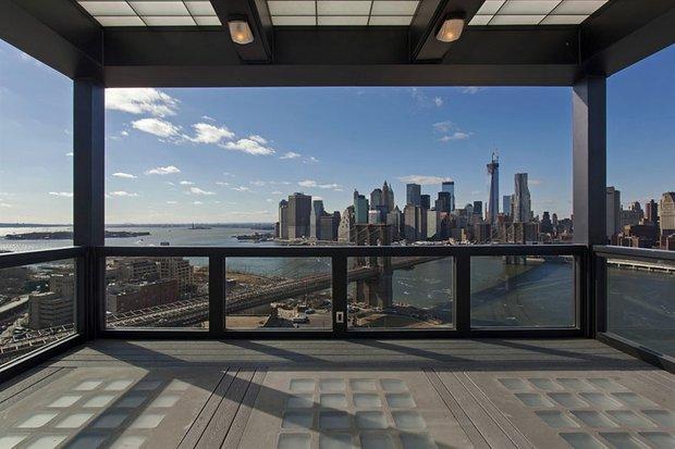 Фотография: Балкон, Терраса в стиле Современный, Декор интерьера, Квартира, Дом, Дома и квартиры, Нью-Йорк, Пентхаус – фото на INMYROOM